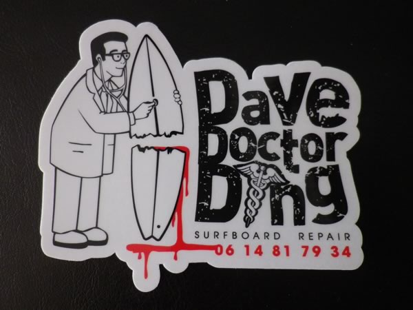 Doctor Ding - Surfoard repair - Azur